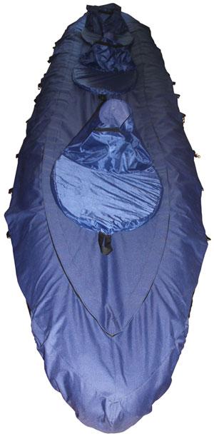 Фартук для байдарки с юбками для защиты от воды