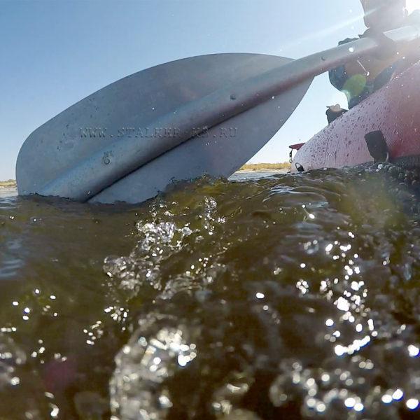 Весло вид с воды