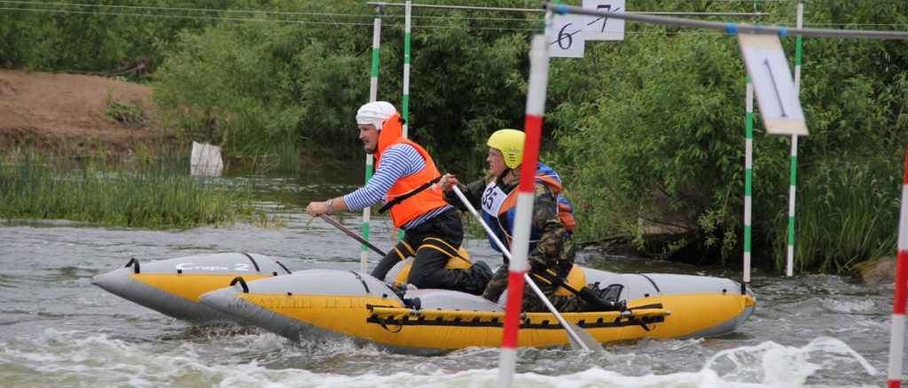 Соревнования по водному туризму