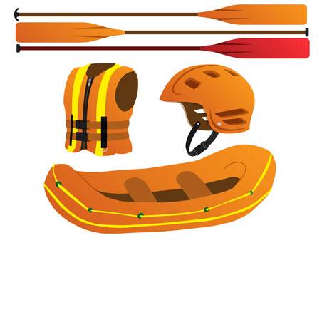 Снаряжение для рафтинга