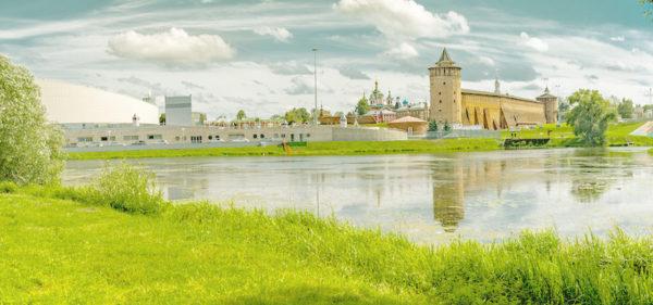 На байдарках по реке Коломенка